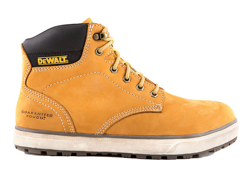 28aa1d72b45 Plasma Men 6 in. Size 10(M) Wheat Leather Aluminium Toe/ Composite Plate  Work Boot