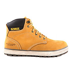 Plasma Men 6 in. Size 11(M) Wheat Leather Aluminium Toe/ Composite Plate Work Boot