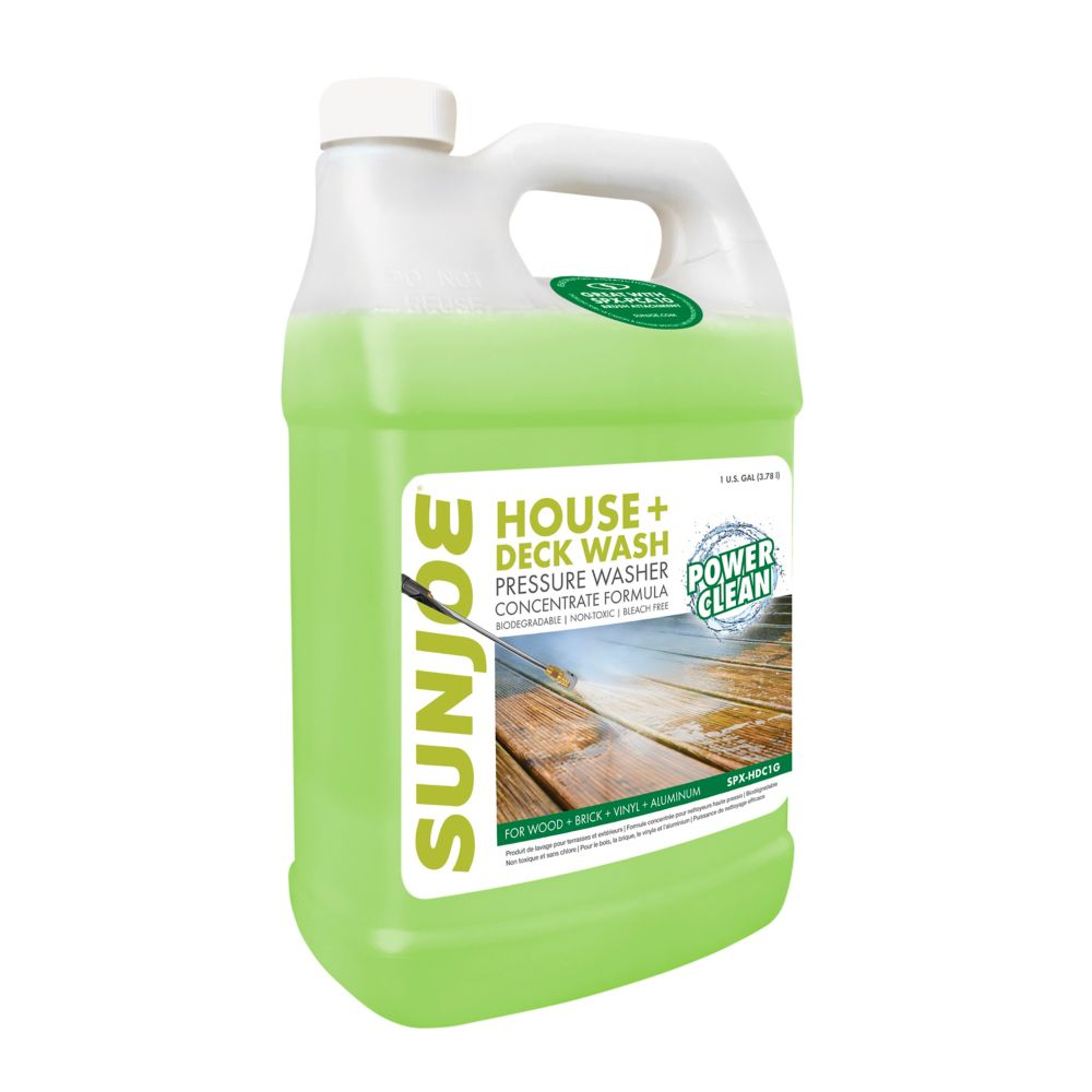 Sun Joe House and Deck detergent
