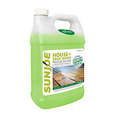 Exterior All-Purpose Pressure Washer Rated Concentrated Cleaner, 1-Gallon