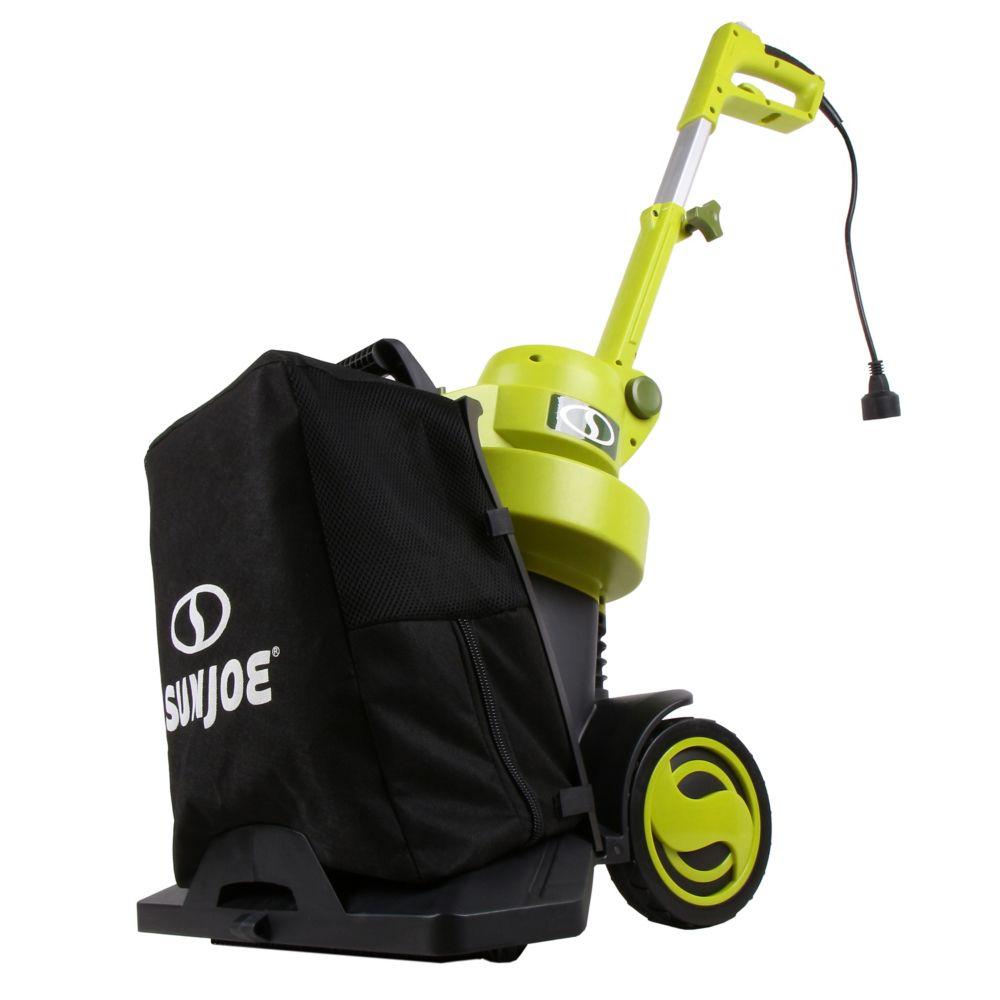 3-in-1 Walk Behind Electric Blower/Vacuum/Mulcher |Max 130 MPH - 13.5-Amp|