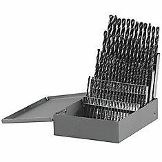 Ensemble de 60forets à index de métal en oxyde noir