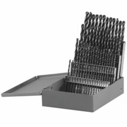 Bosch 60-Piece Metal Index Black Oxide Drill Bit Set