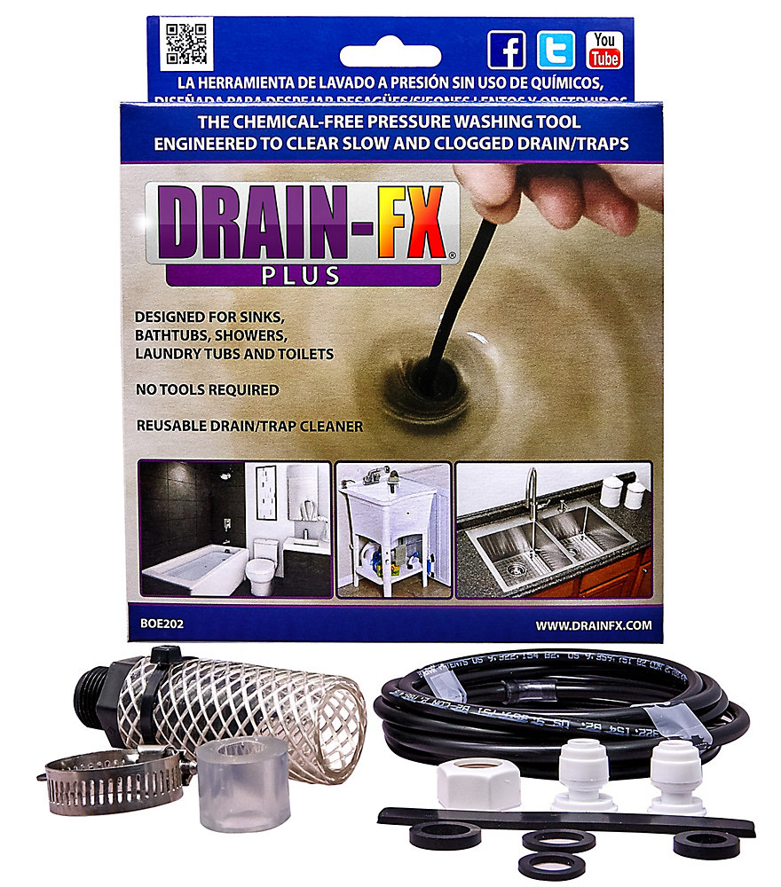 Plus Drain Unclogging Tool