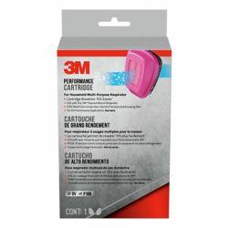 3M Tekk Protection - Cartouche pour appareil respiratoire domestique à usages multiples, rose