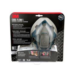Cool Flow Respirateur multi-usages 3M, réutilisable, gris