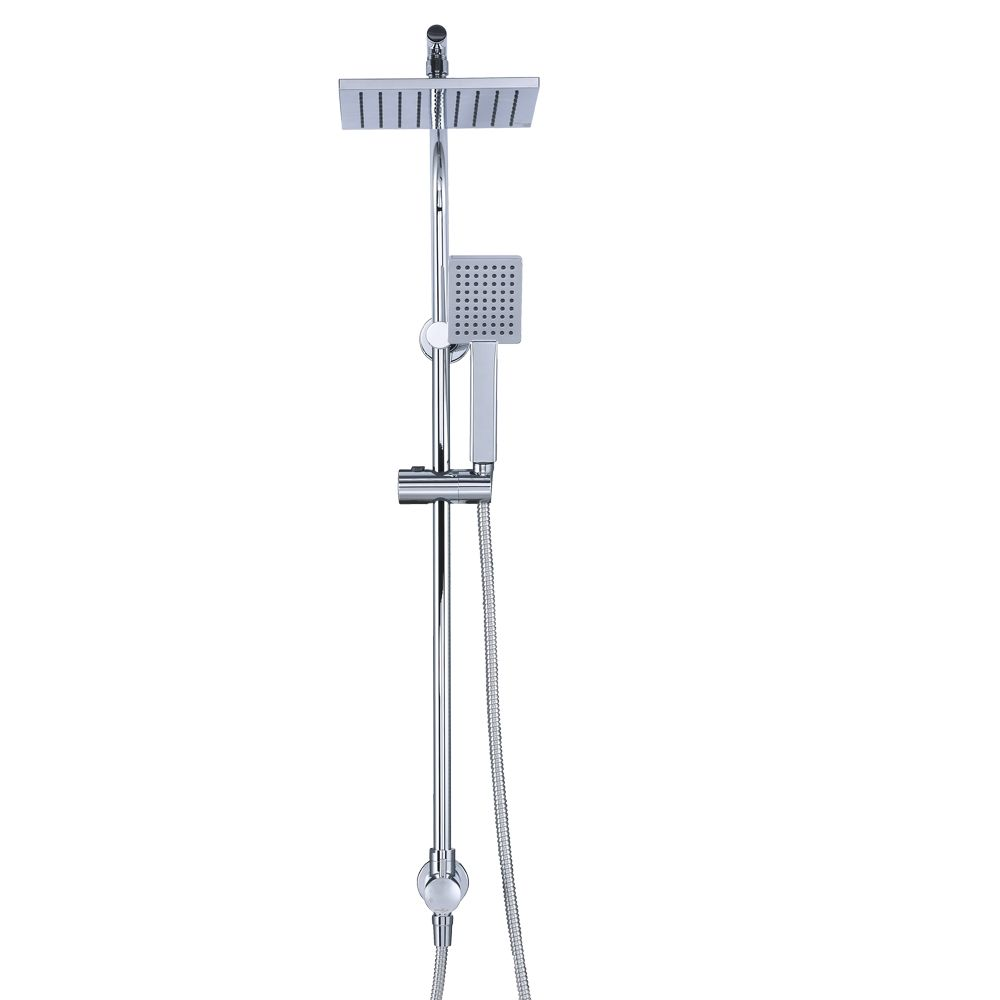 GLACIER BAY Wall Bar Handheld Shower and Showerhead