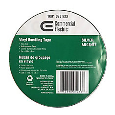 2-inch x 150 ft. Vinyl Bundling Tape, Silver
