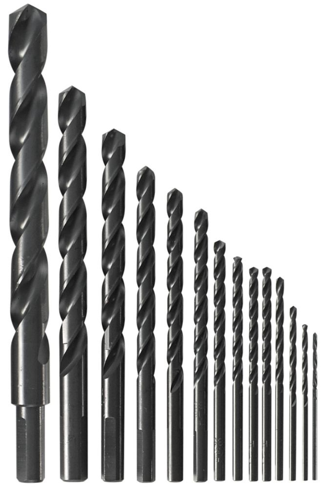 Bosch 14-piece Black Oxide Metal Drill Bit Set