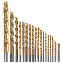 Bosch Ensemble de 21forets à métaux enduits de titane