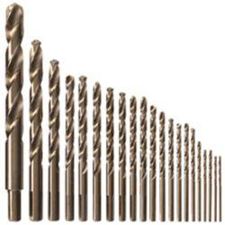 Bosch Ensemble de 21 forets à métaux en cobalt