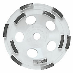 5-inch Double Row Segmented Diamond Cup Wheel