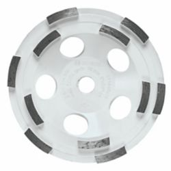 Bosch 5-inch Double Row Segmented Diamond Cup Wheel