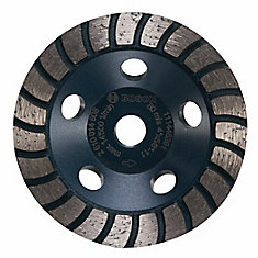 4-inch Turbo Row Diamond Cup Wheel