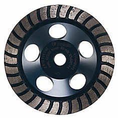 5-inch Turbo Row Diamond Cup Wheel