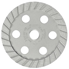 4-inch Turbo Diamond Cup Wheel