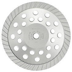 7-inch Turbo Diamond Cup Wheel