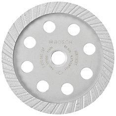 4-1/2-inch Turbo Diamond Cup Wheel