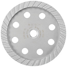 5-inch Turbo Diamond Cup Wheel