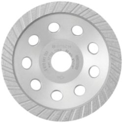 Bosch 5-inch Turbo Diamond Cup Wheel for Concrete
