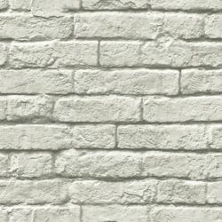 Joanna Gaines Magnolia Home Brique-et-mortier Gris - Papier peint amovible
