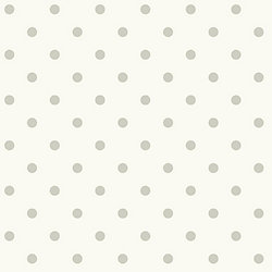 Joanna Gaines Magnolia Home 56 sq. ft Dots On Dots Gray Removable Wallpaper