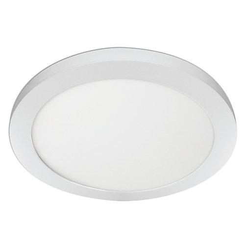 Plafonnier panneau plat rond encastrer blanc DEL de, bord allumé , 22.5 watts, changeant de couleur