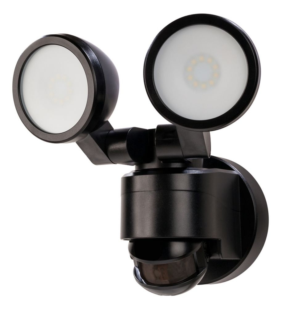 Defiant 180 Degree Black Motion Activated Outdoor