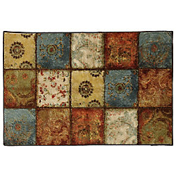Mohawk Home Artifact Panel Multi 1 ft. 8-inch x 2 ft. 10-inch Accent Rug