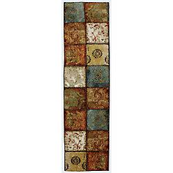 Mohawk Home Tapis de passage Artifact Panel, multi, 2pi x 8pi