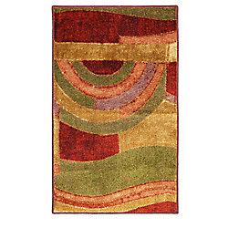 Mohawk Home Tapis décoratif Picasso Wine, 1 pi 8 po x 2 pi 10 po