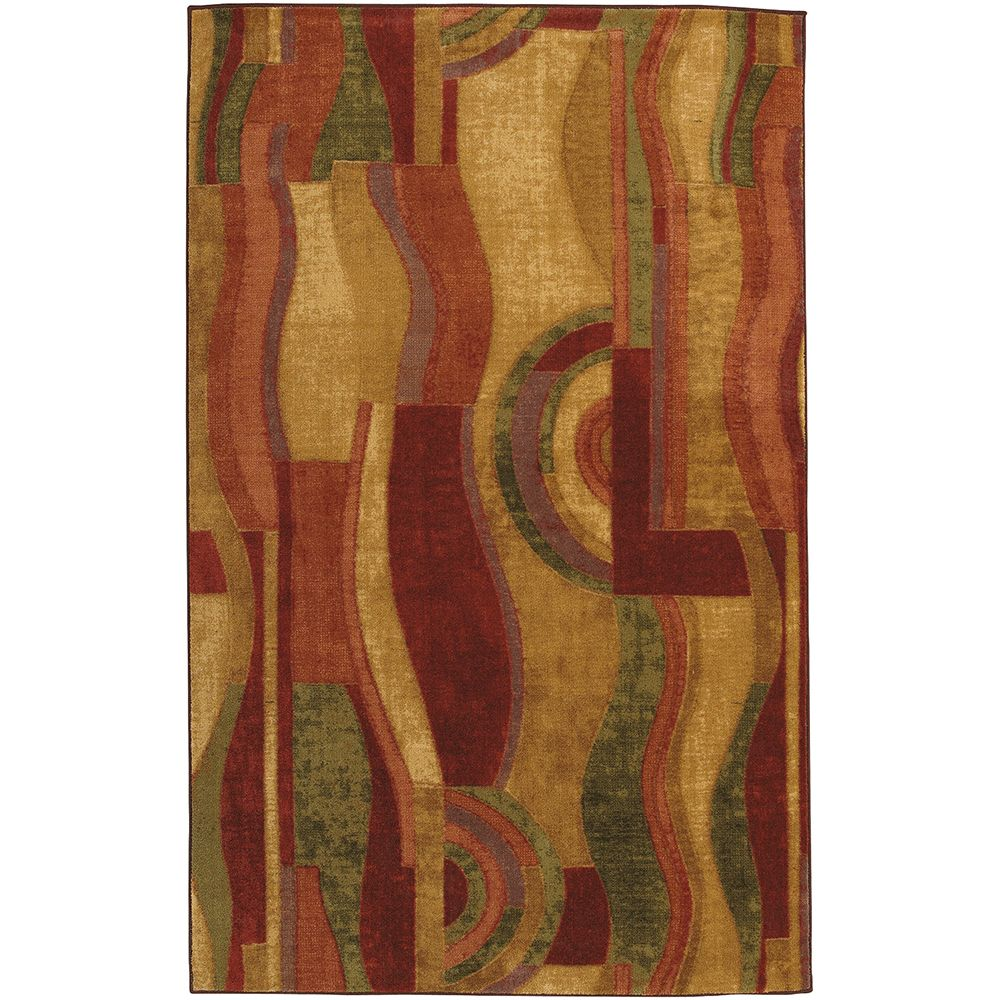 Mohawk Home Picasso Wine 5 ft. x 8 ft. Area Rug