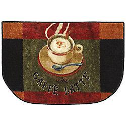 Mohawk Home Tapis décoratif Caffe Latte Primary 18 po x 30 po Slice Kitchen