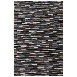 Mohawk Home Mesa Black 3 ft. 4-inch x 5 ft. 6-inch Accent Rug
