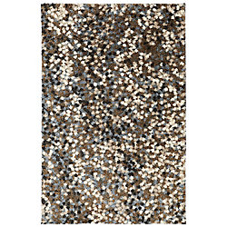 Mohawk Home Chaos Theory Dark Earth 5 ft. x 8 ft. Area Rug