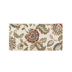 Mohawk Home Tapis décoratif Lucy Cream, 2 pi x 4 pi