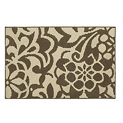 Mohawk Home Simpatico Taupe Starch 2 ft. 6-inch x 3 ft. 9-inch Scatter Rug