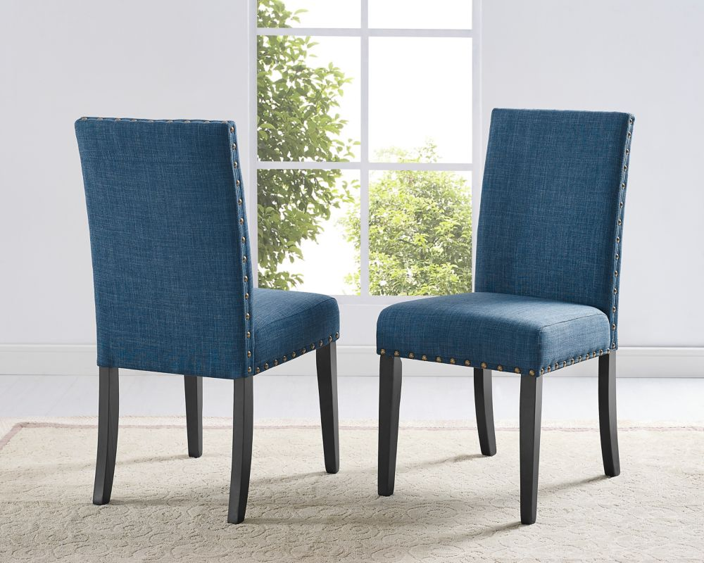 Brassex Inc. Benecio Dining Chair (Set of 2) Grey