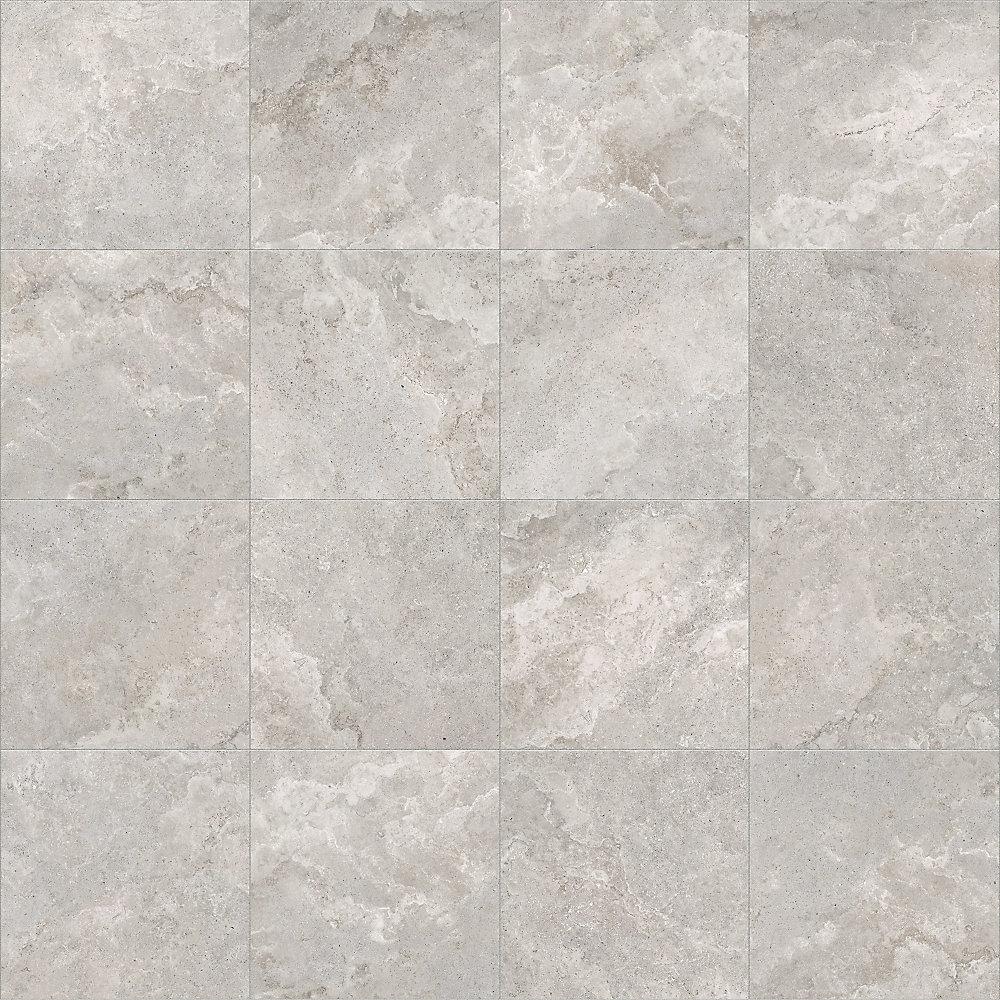 12-inch x 12-inch Vanizio Ivory Ceramic Tile