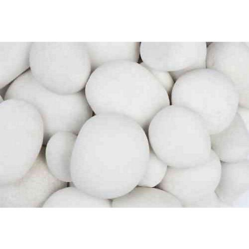 9.07 kg White Pebbles