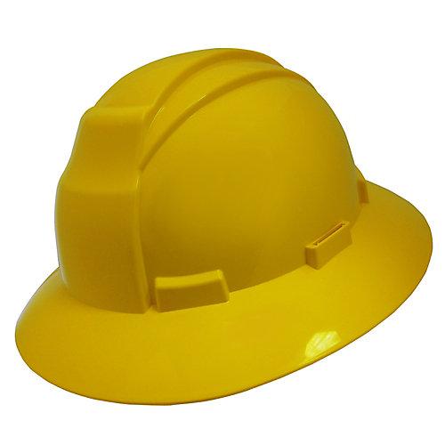Yellow Wide Brim Hard Hat
