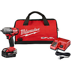 M18 FUEL 1/2 inch Mid-Torque Impact Wrench with Pin Detent Kit