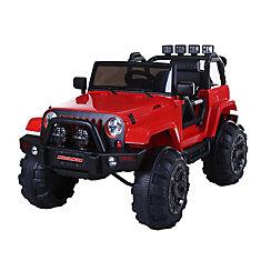 Mudslinger 12V Riding Toy in Red