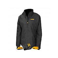 12V/20V Max Ladies Quilted/Heated Grey/BLK Jacket w/ Batt Kit-M