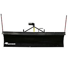 Heavy-Duty 84 inch x 22 inch Snow Plow for 1500 Ram Trucks, F-150 Series  and 1500 Chevy Trucks