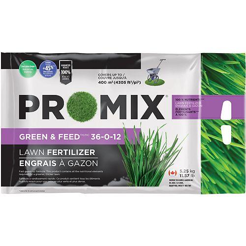 PRO-MIX Green & Feed Lawn Fertilizer 36-0-12