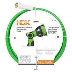 HDX 8-Spray Garden Hose Nozzle