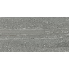 12-inch x 24-inch Gladstone Grey Rectified Ceramic Tile