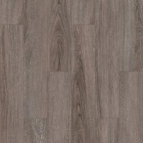 Plancher, stratifié, 12 mm x 8,03 po x 47,64 po, Chêne Gainsboro, 15,94 pi²/boîte