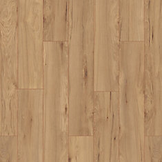 Russet Meadow Hickory 12mm Thick x 6.1-inch W x 47.64-inch L Laminate Flooring (14.13 sq. ft./ case)